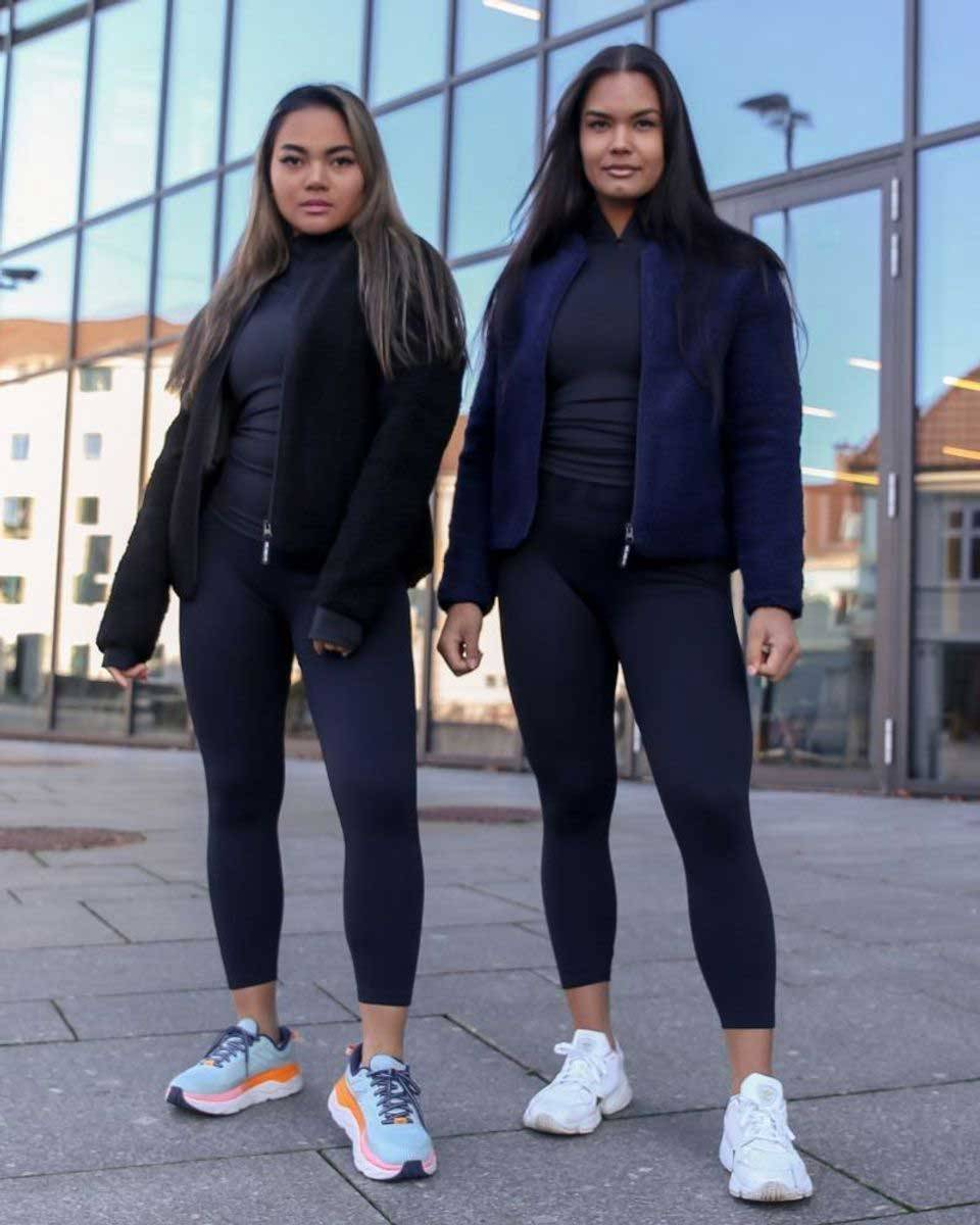 We Are Fit Blue Teddy Jacket