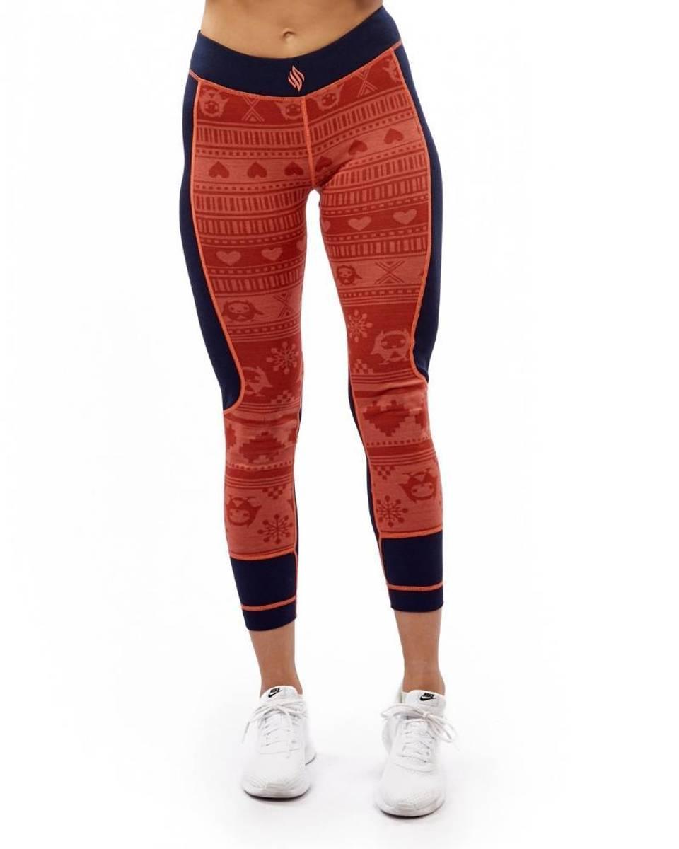 We Are Fit Orange Owl Merino Wool Pant