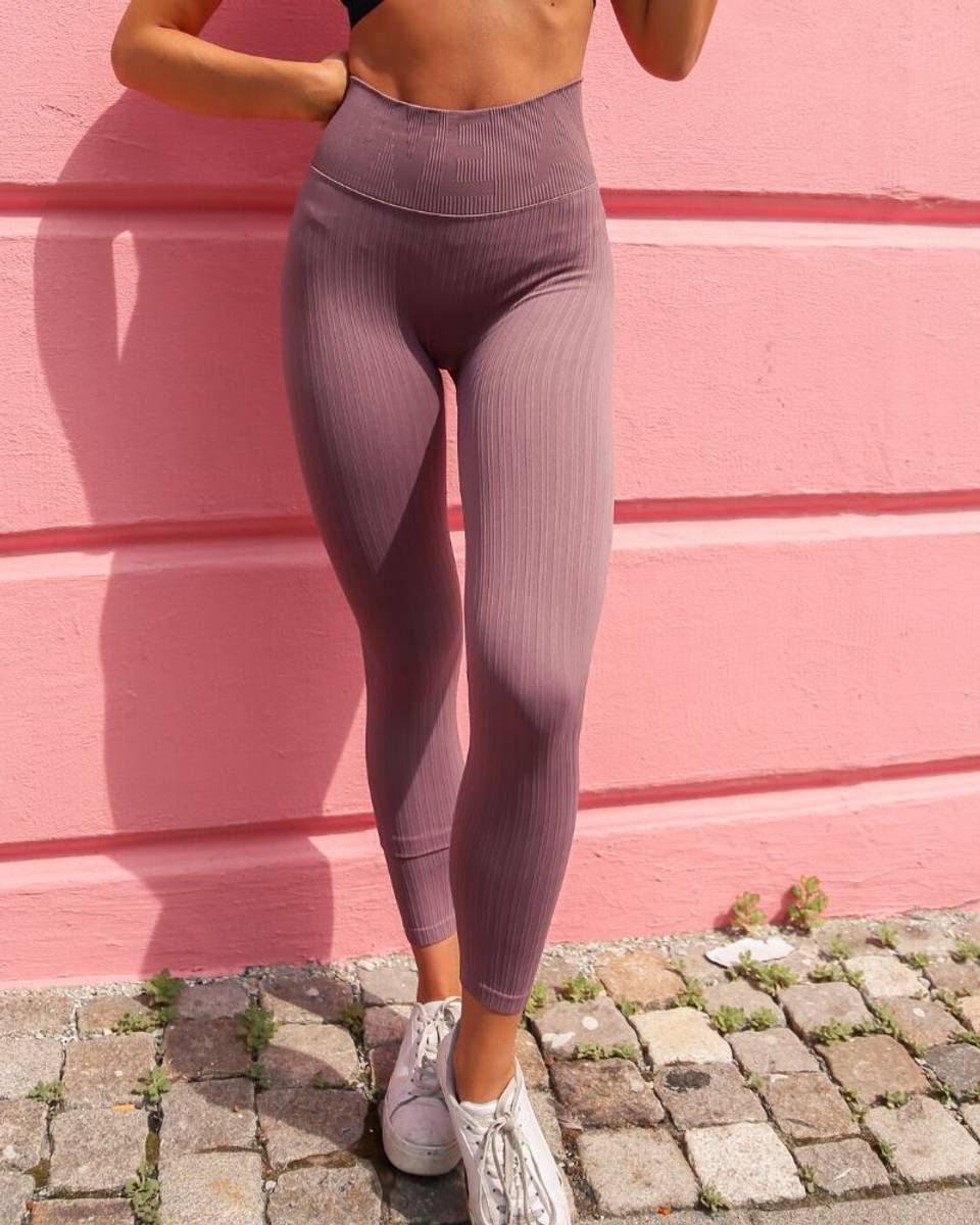 We Are Fit Hazel Tights Ribbed Seamless