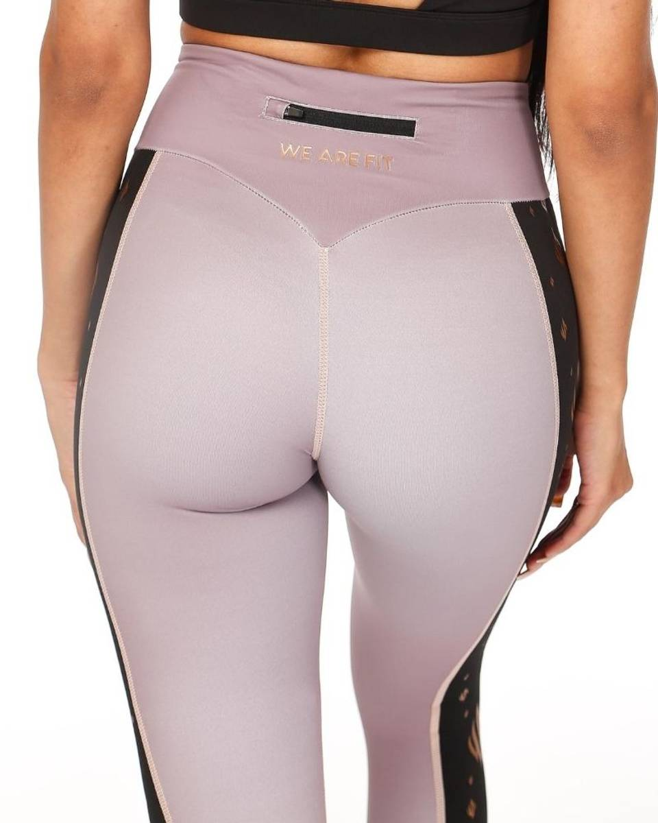 We Are Fit Empower Rose Tights
