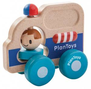 Bilde av PlanToys Ambulanse i tre