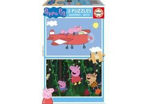 Bilde av Peppa gris 2 puslespill