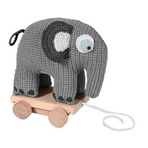 Bilde av Sebra Heklet trekkdyr, elefanten Fanto, classic