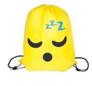 Bilde av Gymbag - Smiley snorking