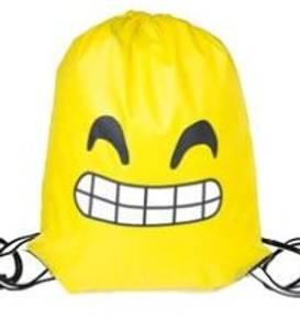 Bilde av Gymbag - Smiley skeptisk