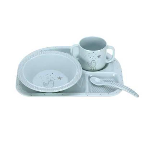 Lässig Dish Set Melamine/Silicone More Magic Seal