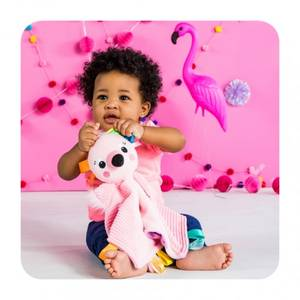 Bilde av Bright starts koseklut flamingo