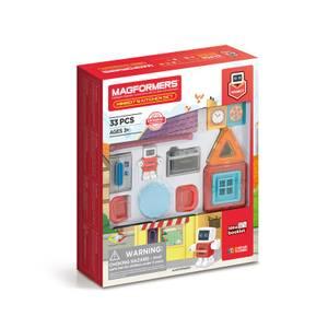 Bilde av Magformers minibots kjøkkensett
