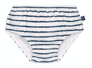 Bilde av Lässig Badebleie gutt, Blå striper 12 mnd