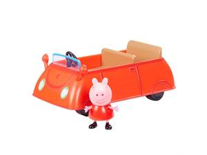 Bilde av Peppa gris rød bil