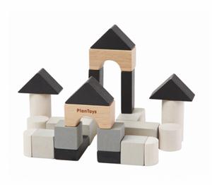 Bilde av PlanToys Byggeklosser i tre