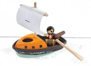 Bilde av PlanToys Pitatbåt i tre