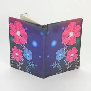 Bilde av Blomster - elastisk bokbind
