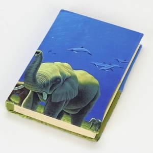 Bilde av Elefant - elastisk bokbind
