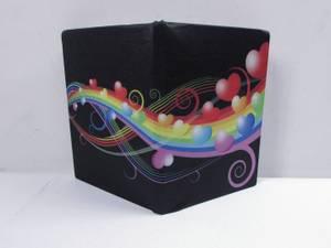 Bilde av Regnbue - elastisk bokbind