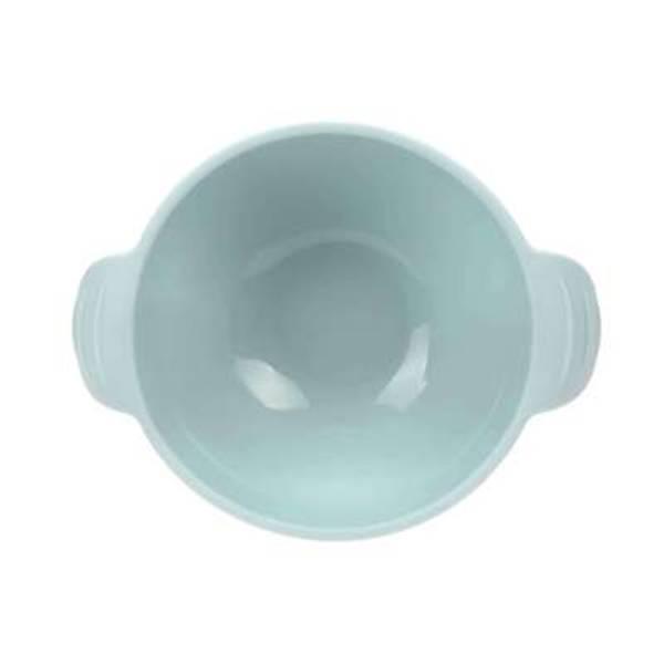 Lässig silicone bowl blå med sugekopp