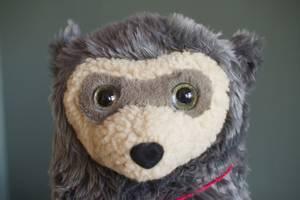 Bilde av Blafre Brillebjørn bamse (Stor)