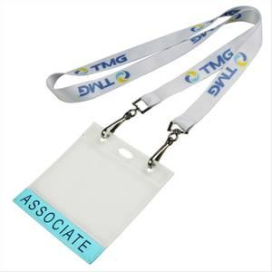 Bilde av ID kortholder med logo og