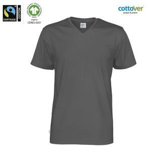 Bilde av Cottover V-neck tskjorte med