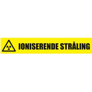 Bilde av Tape ioniserende (radioaktiv) stråling 50 mm x 66m