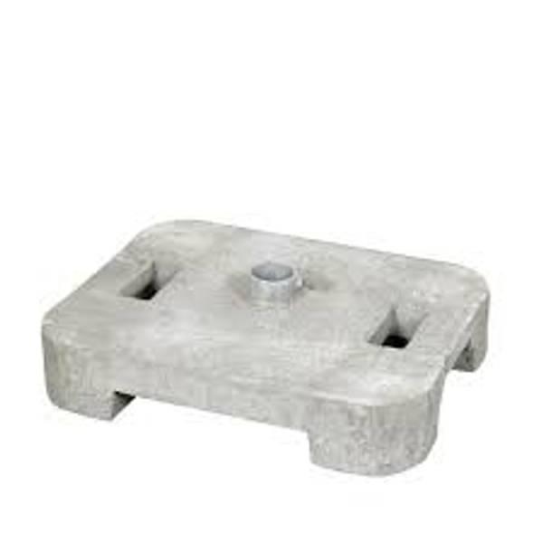 Betongfundament - Løsfot for skiltstolpe 60 kg