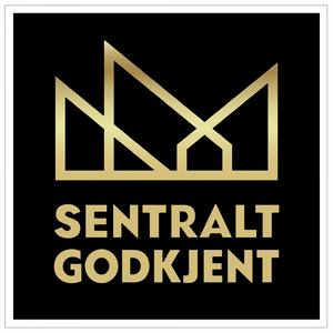 Bilde av Ansvarsrett - Klistremerke med symbol for sentral godkjenning