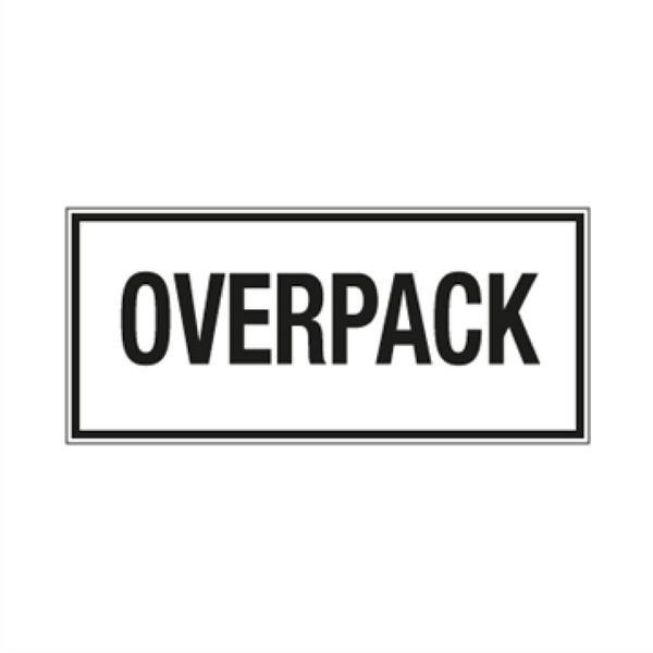 Overpack - ADR merking av farlig gods