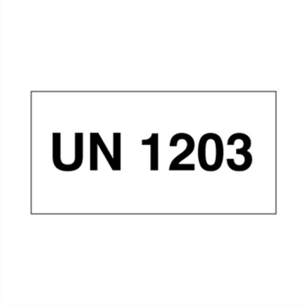 UN 1203 Bensin - ADR merking av farlig
