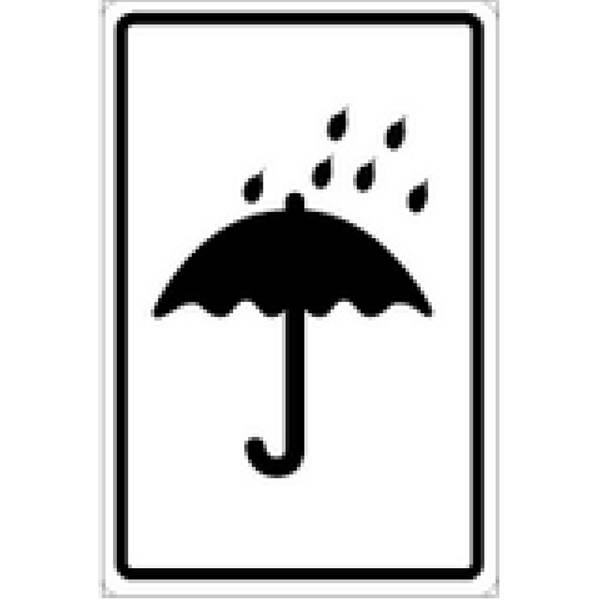 Paraply etikett - ADR merking av farlig