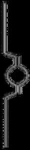 Bilde av Skiltklammer - beslag til skilt og skiltstolpe - CC 180 mm