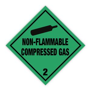 Bilde av Fareseddel klasse 2.2 ikke brannfarlige gasser