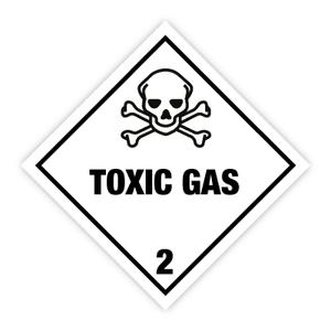 Bilde av Fareseddel klasse 2.3 Giftige gasser