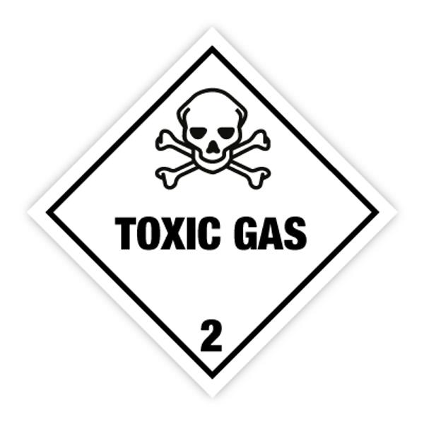 Fareseddel klasse 2.3 Giftige gasser