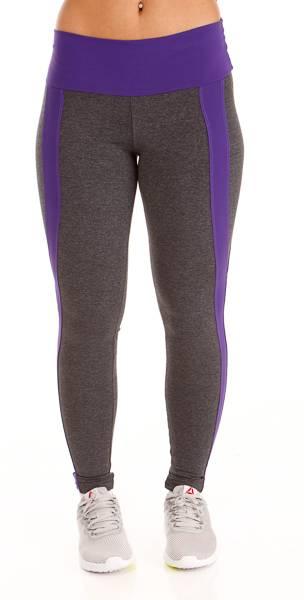 Namaste Purple Striped Legging