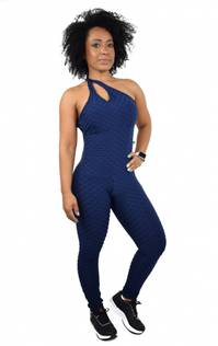 Brazfit  Marine Blue Bodysuit - One Piece