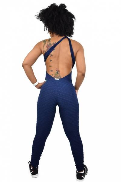 Brazfit Marine Blue Bodysuit - One Piece