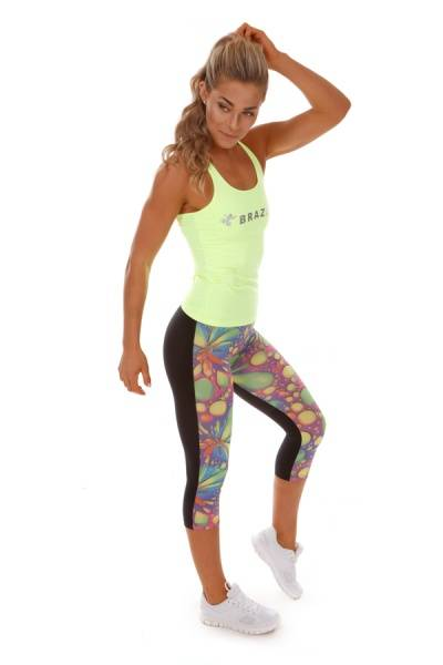 BRAZFIT Limited Edition Bubble Magic Capri