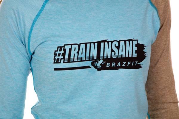 Brazfit Train Insane Light Blue Dry Hoodie