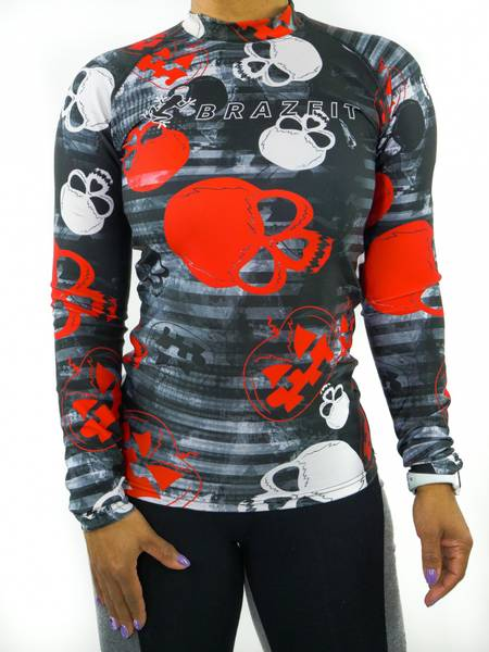 BRAZFIT Skulls Sweater