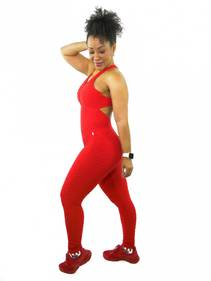 Brazfit Red Bodysuit - One Piece