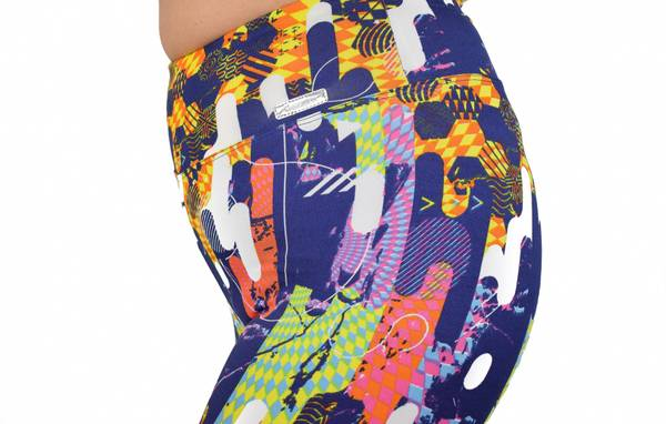 Limited Edition Abstract High Waisted Tights