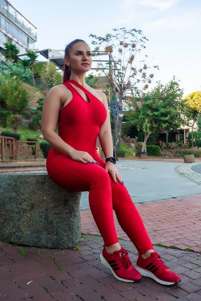 Brazfit Red Bodysuit - One Piece