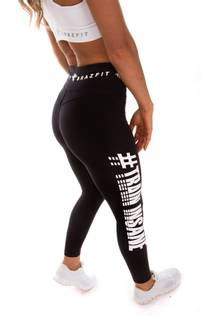 Dynamic Black Train Insane Tights