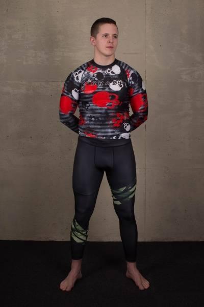 BRAZFIT Man Gym Warrior Tights