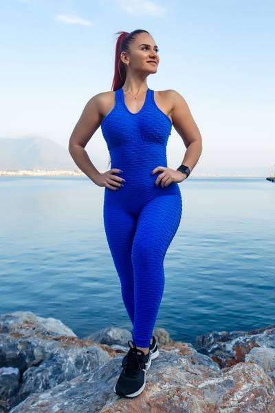Brazfit Royal Blue Bodysuit - One Piece