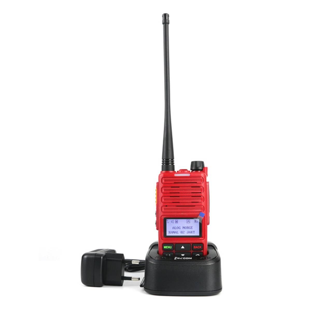 Brecom VR-600D analog/digital radio DMR 138-174Mhz