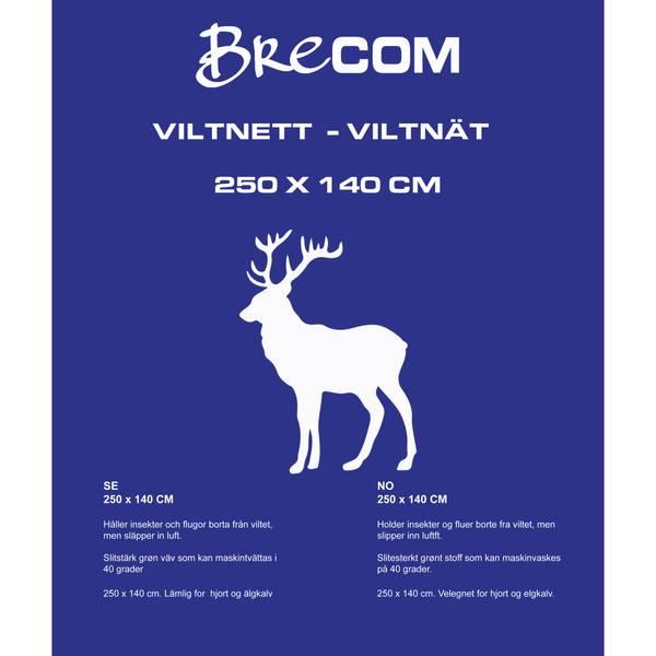Bilde av Brecom viltnett. Hjort/elgkalv. 140X250 cm.