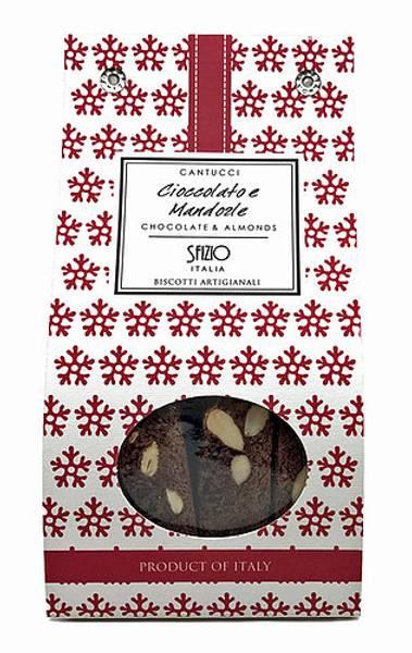 Cantucci med sjokolade og mandler