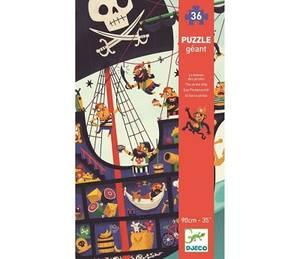Bilde av Piratskip, gigant puslespill 36 brikker