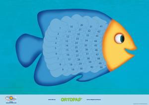 Bilde av Motivasjonsplakat Fisk